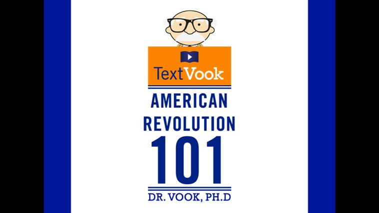 American Revolution 101: The Animated TextVook american player