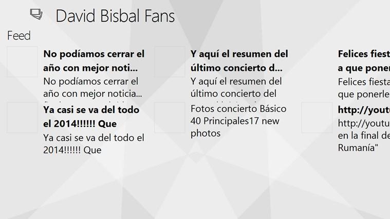 David Bisbal Fans