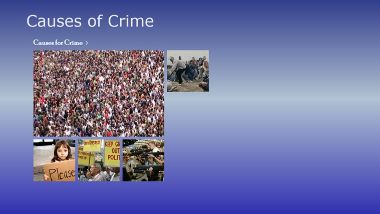 10 causes of crime Usa violent crime offenses with rankings for us states.