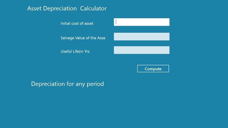 Asset Depreciation Analyzer