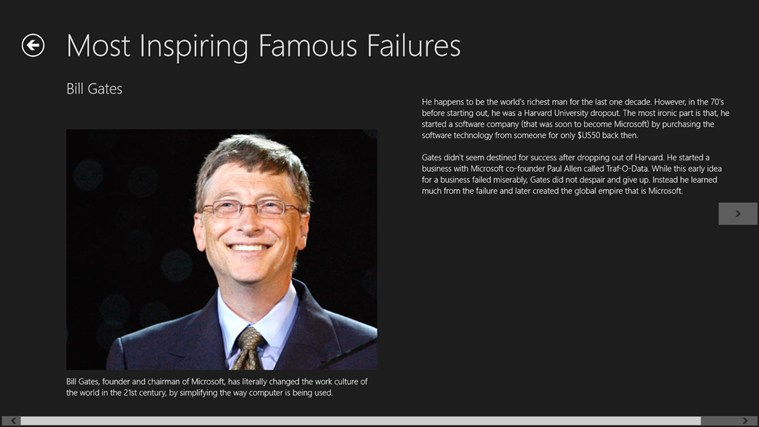 Related apps like most inspiring famous failures