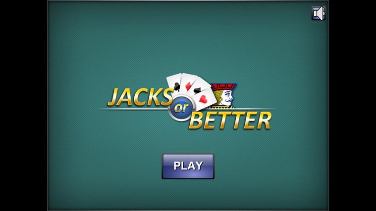 Jacks or Better?
