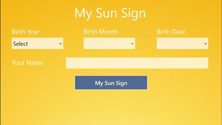 My Sun Sign lucky