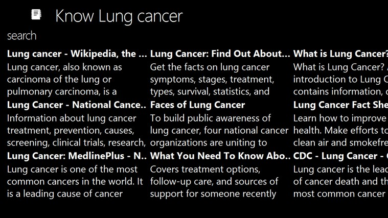 short essay about lung cancer Exploring lung cancer lung cancer is the leading cancer killer in both men and women some symptoms that a person with lung cancer experiences is the following: coughing, pain in chest, shortness of breath, changes in voice, harsh sounds when breathing etc.