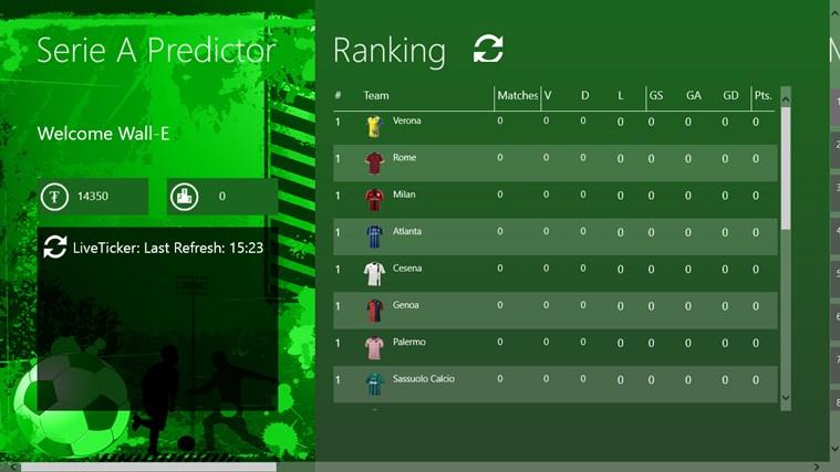 Serie A Predictor