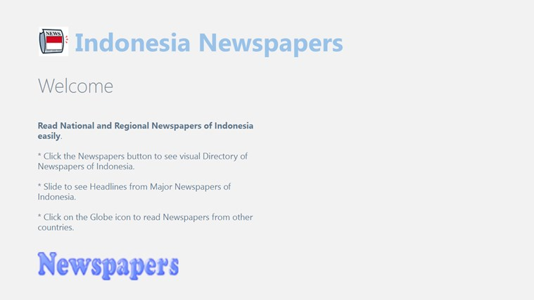 Indonesia Newspapers newspapers