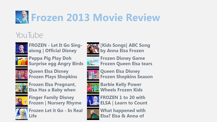 Frozen 2013 Movie Review