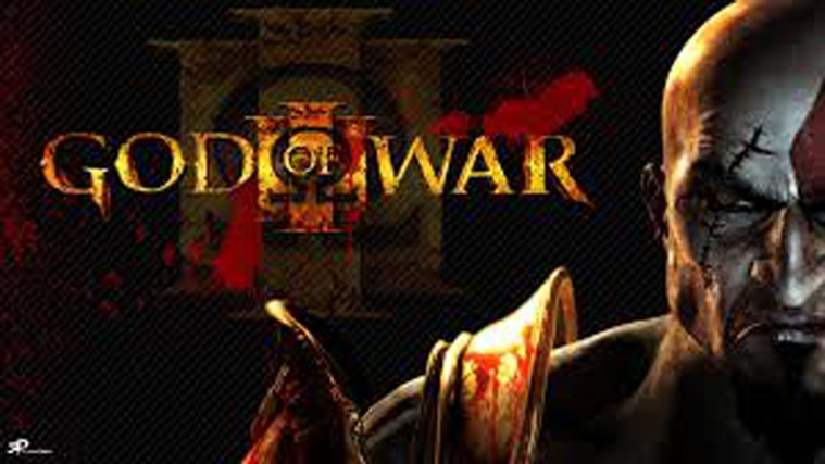 God Of War 3 Playing Easy To Kill Boss dvd playing