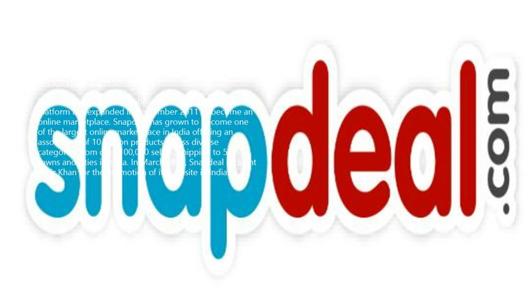 SnapDeal App