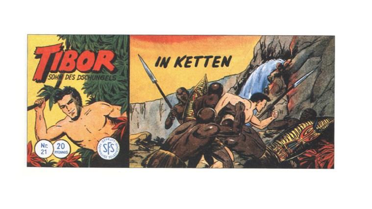 Tibor Comic - Band 21