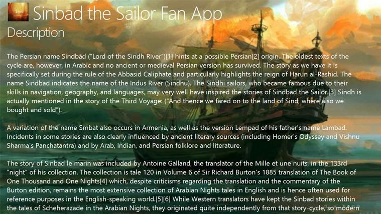 Sinbad the Sailor Fan App persian winpim