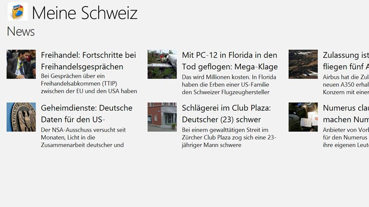 Meine Schweiz News