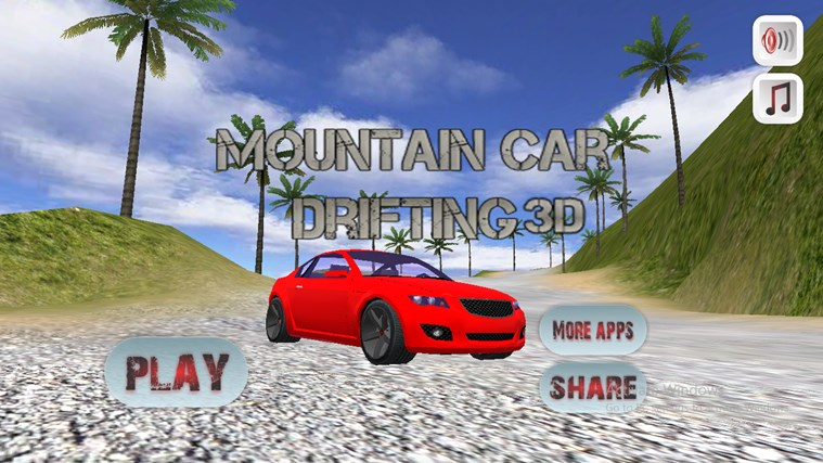 Mountain Car Drifting 3D