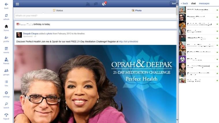 Facebook + facebook