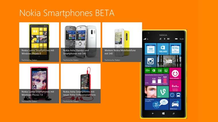Nokia Smartphones BETA