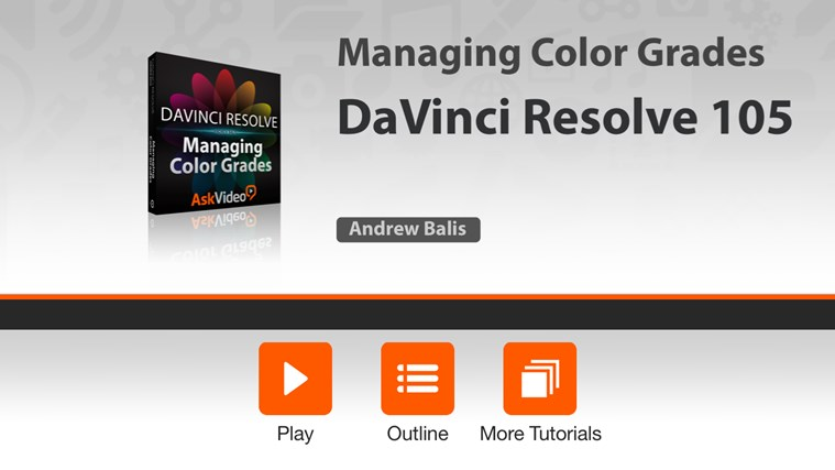 Managing Color Grades in Davinci Resolve