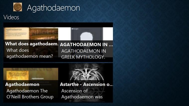 Agathedaemon