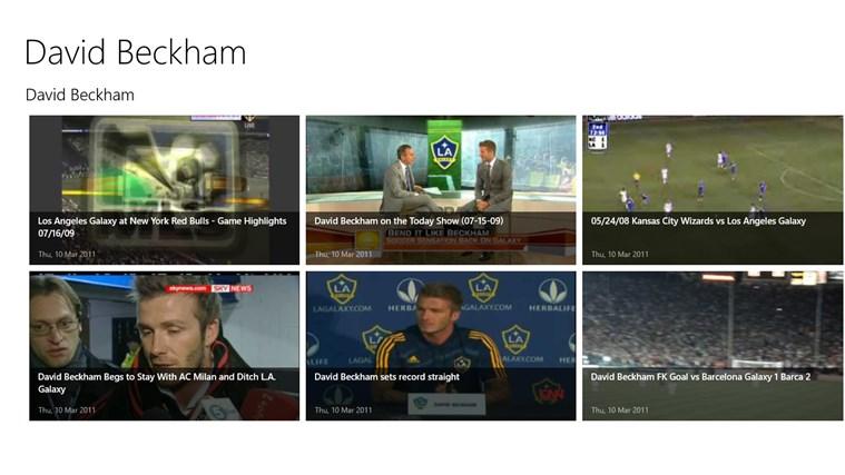 David Beckham app beckham united