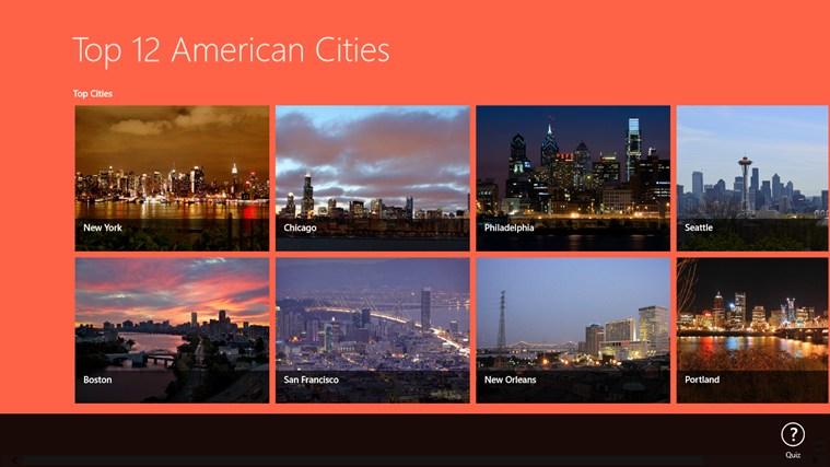 Top 12 American Cities american player