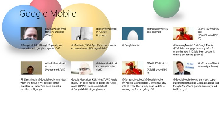 Мобильные гугл знакомства
