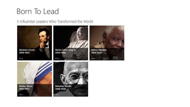 5 influential leaders who transformed t