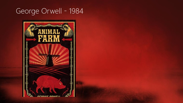 the use of symbolism in comparing the events of george orwells animal farm and the 1917 russian revo Narrator animal farm is the only work by orwell in which the author does not appear conspicuously as a narrator or major character it is the least overtly personal of all of his writings the anonymous narrator of the story is almost a nonentity, notable for no individual idiosyncrasies or.