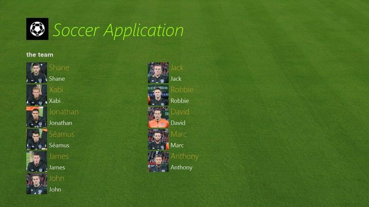 Soccer Application