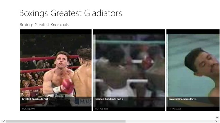 Boxing Greatest Gladiators