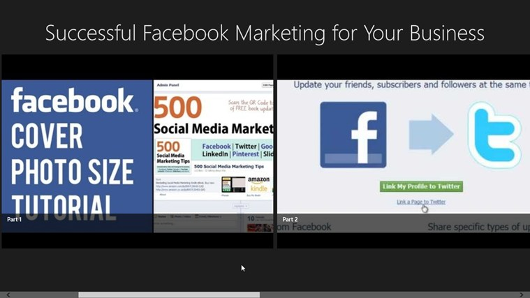 Successful Facebook Marketing for Your Business facebook