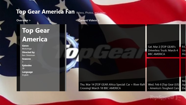 American Top Gear american player