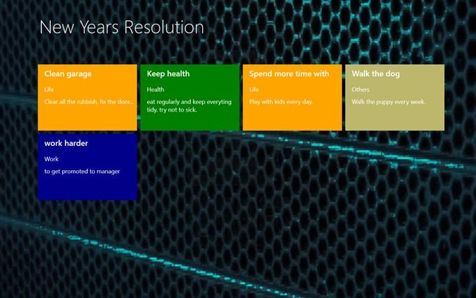 New Years Resolution resolution