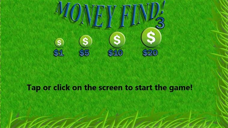 Money Find 3: Multiplicity money tutorial