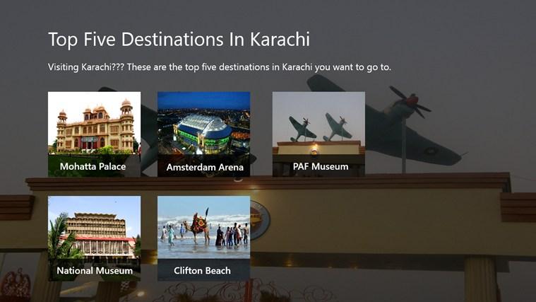 Top 5 Destination In Karachi destination
