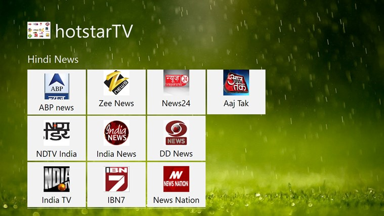 hotstarTV channels youtube