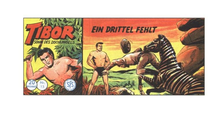 Tibor Comic - Band 13