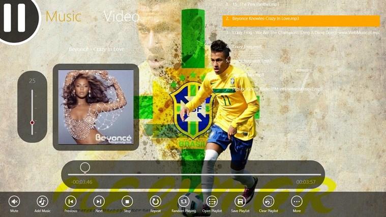 Neymar Media Player divx media