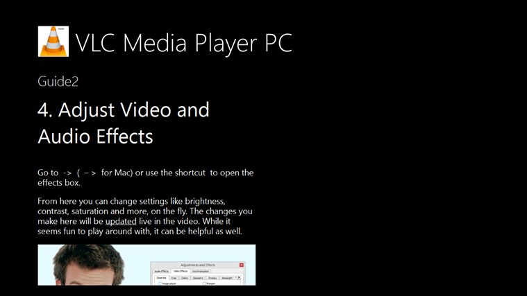 Guide VLC Media Player PC.