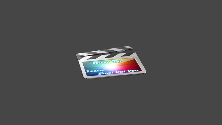 How To Learn Final Cut pro start video