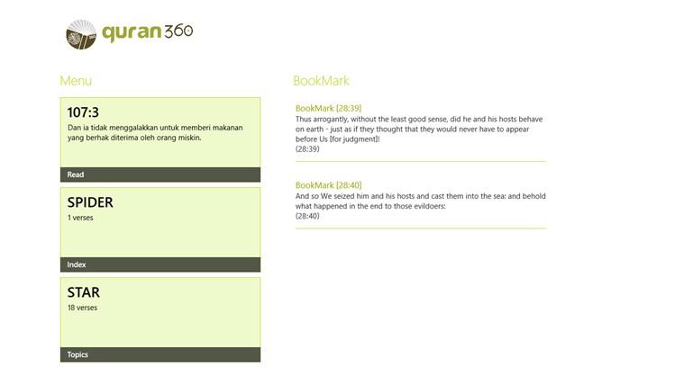 Quran360 al quran com