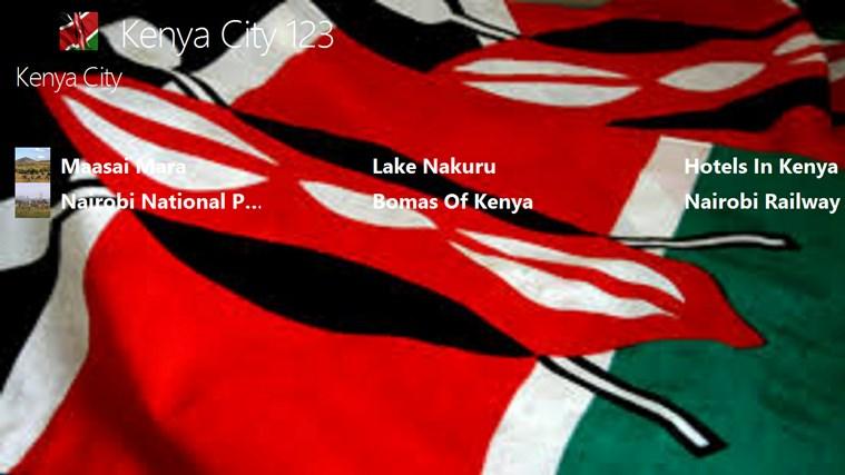 Kenya City 123 cities video