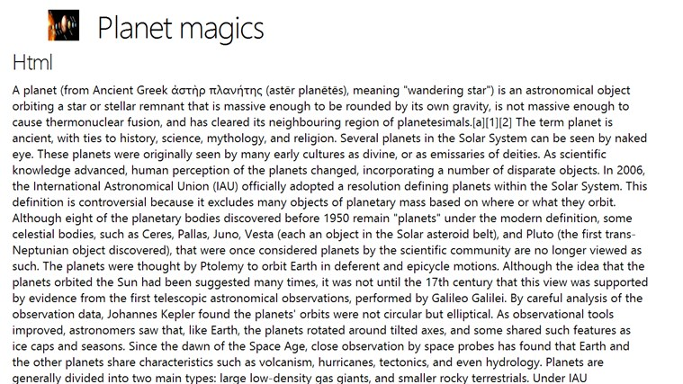 Planet magics