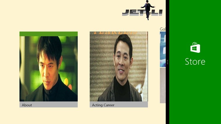 Jet Li the Action Star action