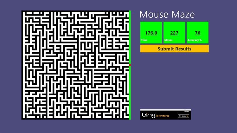 Mouse Maze Windows App Lisisoft
