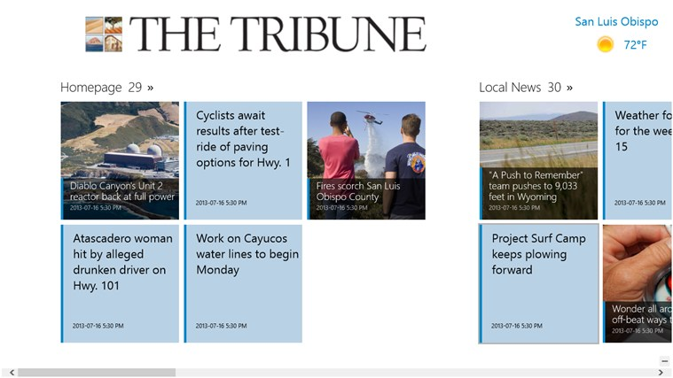 The Tribune tribune world