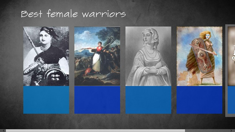 Best female Warriors