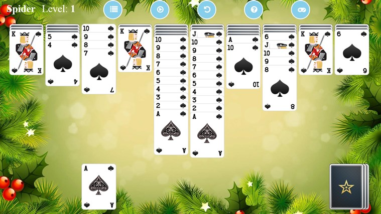 Spider Solitaire Free.
