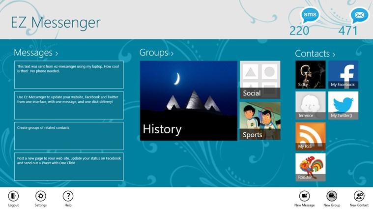 EZ-Messenger messenger
