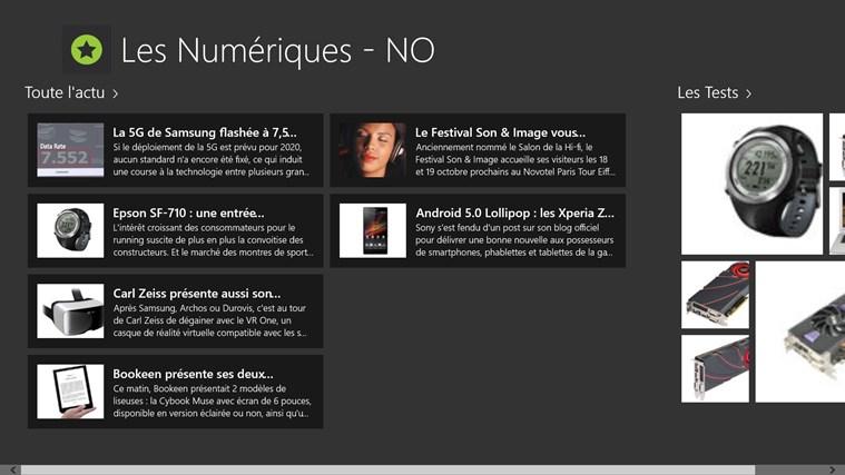 Les Numériques - NO