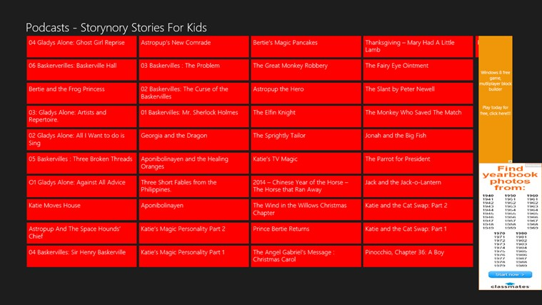 Podcasts - Storynory Stories for Kids