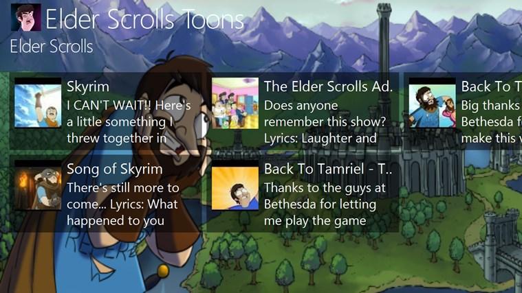 Elder Scrolls Toons